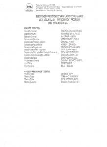 Lista Elecciones AMRA