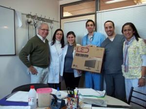 Donación-AMRA-Hospital-Mi-Pueblo-Florencio-Varela