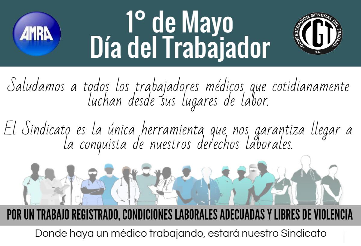 Día-del-trabajador-2015-AMRA-Sindicato-Medico