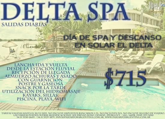 delta spa en el día 17.9.15