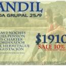 SALIDA GRUPAL A TANDIL: ¡ÚLTIMOS LUGARES DISPONIBLES A PRECIO PROMOCIONAL!