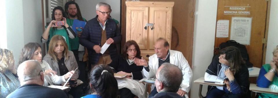 TRABAJADORES MÉDICOS PRECARIZADOS EN VILLA GESELL