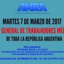 MARTES 7 DE MARZO: PARO GENERAL DE TRABAJADORES MÉDICOS