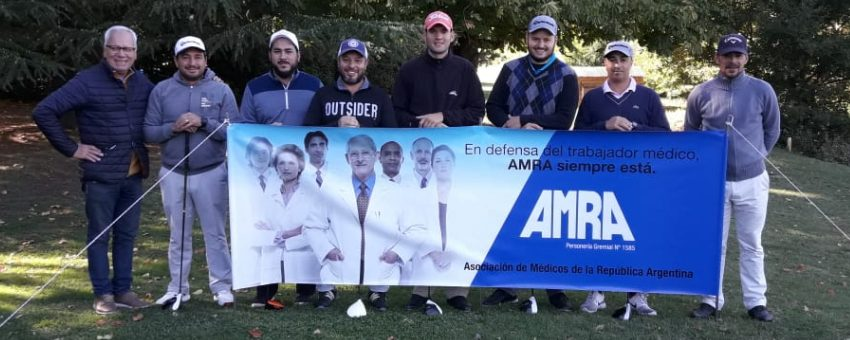 SE REALIZÓ LA COPA DE GOLF AMRA EN SIERRA DE LA VENTANA